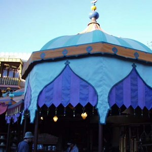 5 of 22: The Magic Carpets of Aladdin - Aladdin construction