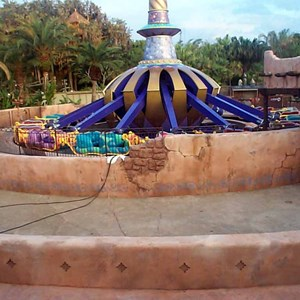 1 of 6: The Magic Carpets of Aladdin - Aladdin construction