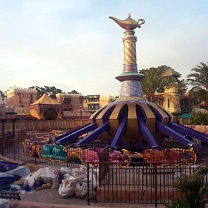 5 of 6: The Magic Carpets of Aladdin - Aladdin construction