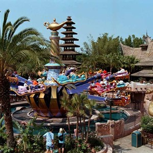1 of 1: The Magic Carpets of Aladdin - Aladdin area now complete