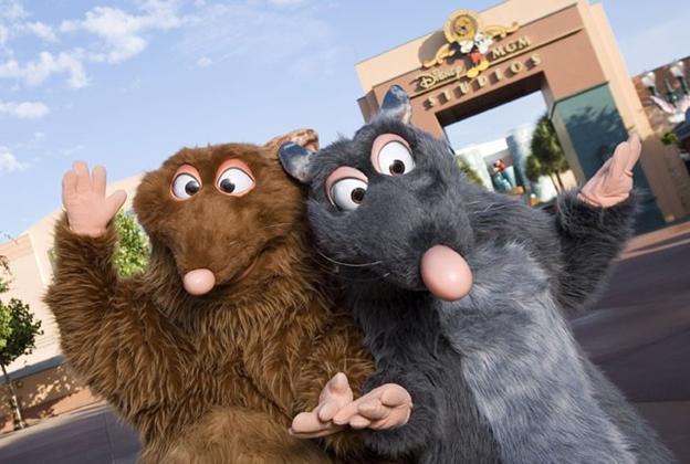 Ratatouille characters make daily meet-and-greet appearances