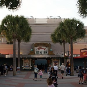 1 of 1: The Magic of Disney Animation - Art of Animation exterior under refurbishment