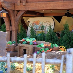 12 of 31: The Many Adventures of Winnie the Pooh - New queue area