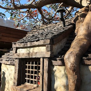 5 of 31: The Many Adventures of Winnie the Pooh - New queue area