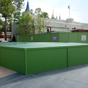 1 of 1: The Many Adventures of Winnie the Pooh - Meet and greet construction area