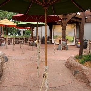 3 of 4: The Many Adventures of Winnie the Pooh - Completed Meet and Greet area