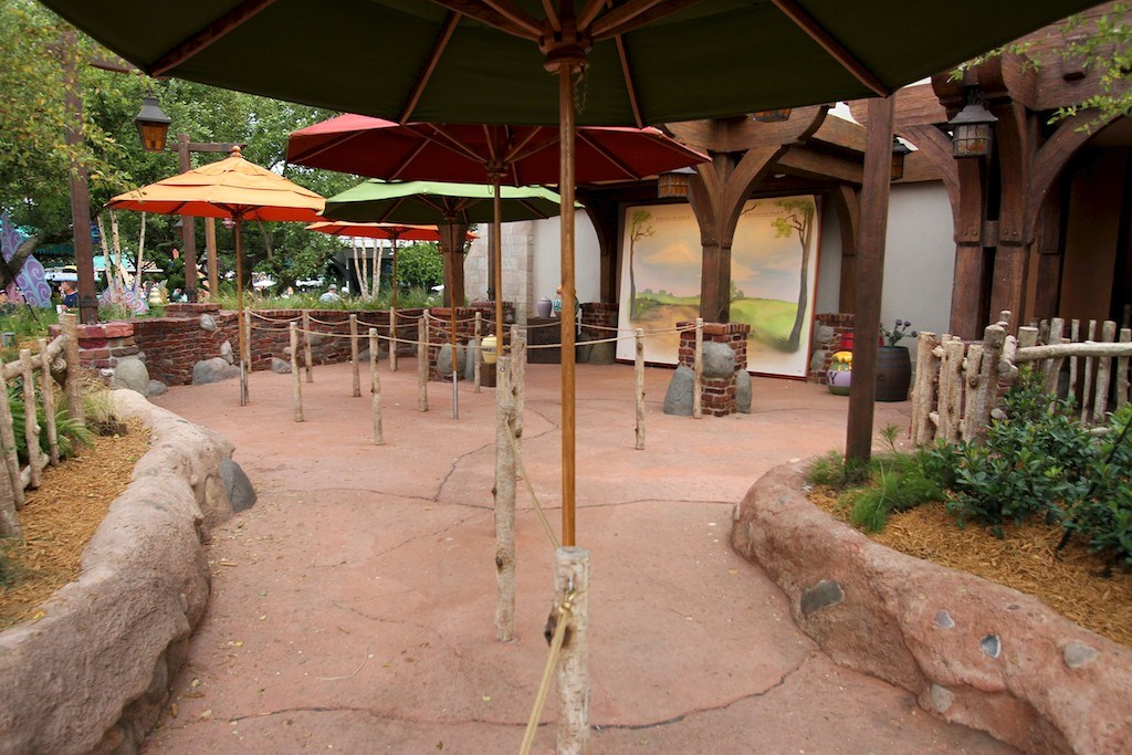Completed Meet and Greet area