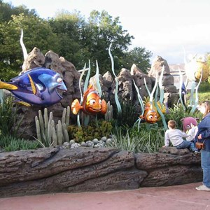 1 of 2: The Seas with Nemo and Friends (Pavilion) - New Nemo photo op area