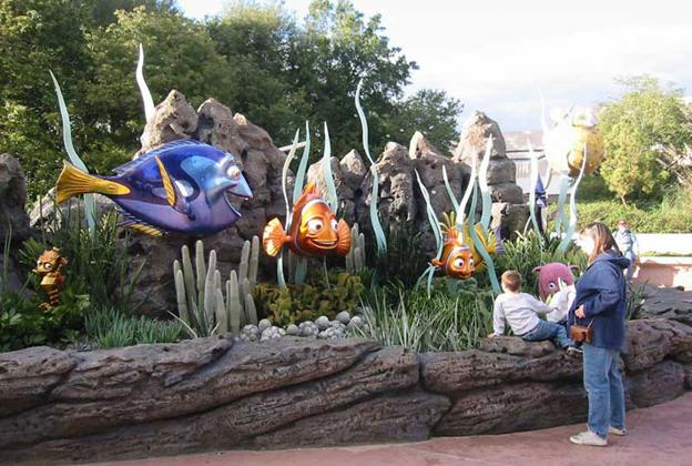 New Nemo photo op area