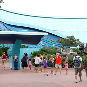 1 of 5: The Seas with Nemo and Friends (Pavilion) - The Seas FASTPASS construction and new entry area