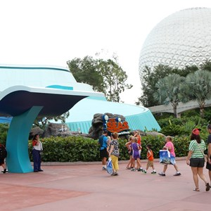 4 of 5: The Seas with Nemo and Friends (Pavilion) - The Seas FASTPASS construction and new entry area