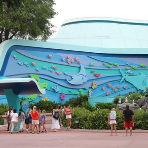 5 of 5: The Seas with Nemo and Friends (Pavilion) - The Seas FASTPASS construction and new entry area