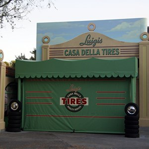 1 of 2: The Stars of Cars at Luigi's Garage - Cars Meet and Greet now open