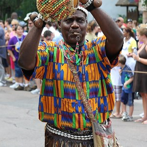 3 of 35: The Taste of Africa Street Party - African Dancers and musicians are everywhere