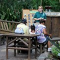 The Taste of Africa Street Party - Harambe Bush camp lends an educational slant to the party