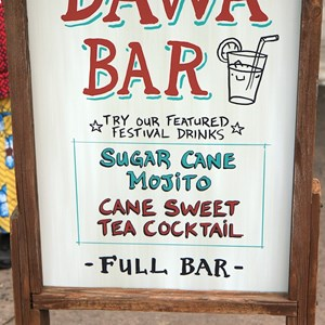 29 of 35: The Taste of Africa Street Party - Dawa Bar has some special items available