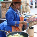The Taste of Africa Street Party - Samosas cooking demonstration