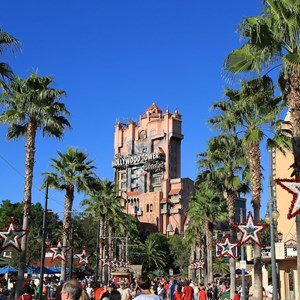 1 of 2: The Twilight Zone Tower of Terror - Hollywood Tower of Terror during the Holiday season
