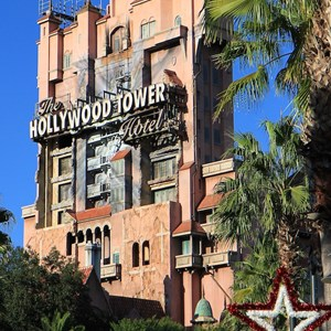 2 of 2: The Twilight Zone Tower of Terror - Hollywood Tower of Terror during the Holiday season