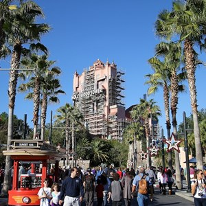 1 of 4: The Twilight Zone Tower of Terror - Tower of Terror scaffolding
