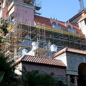 4 of 4: The Twilight Zone Tower of Terror - Tower of Terror scaffolding