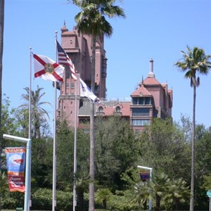 1 of 2: The Twilight Zone Tower of Terror - Tower of Terror roof refurbishment