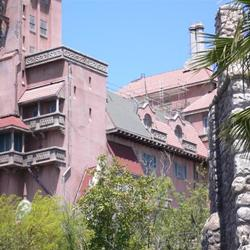 Tower of Terror roof refurbishment
