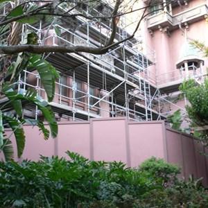 1 of 4: The Twilight Zone Tower of Terror - Tower of Terror exterior facade refurbishment