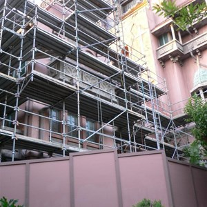 2 of 4: The Twilight Zone Tower of Terror - Tower of Terror exterior facade refurbishment