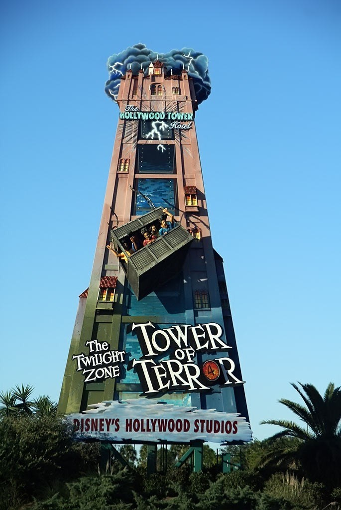 Tower of Terror promotional sign gets new logo