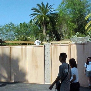 1 of 1: The Twilight Zone Tower of Terror - FASTPASS being installed at Tower of Terror