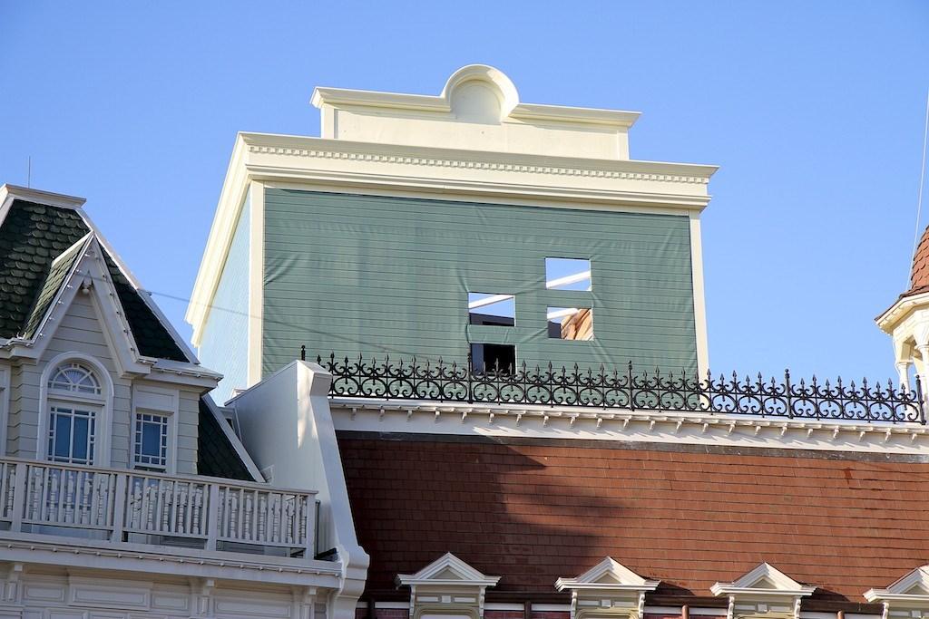 Main Street Casey's Corner projectors housing