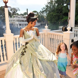 1 of 1: Tiana's Showboat Jubilee! - Copyright 2009 The Walt Disney Company
