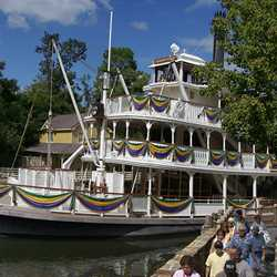 Liberty Belle decoration for Tiana's Showboat Jubilee