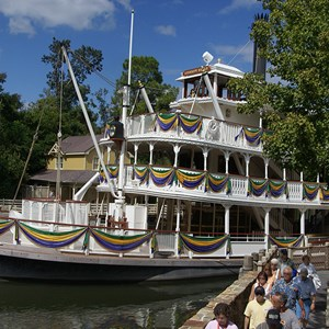 1 of 1: Tiana's Showboat Jubilee! - Liberty Belle decoration for Tiana's Showboat Jubilee