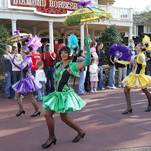 5 of 11: Tiana's Showboat Jubilee! - Tiana's Showboat Jubilee! - Liberty Square parade entrance