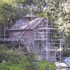 1 of 14: Tom Sawyer Island - Tom Sawyer Island refurbishment