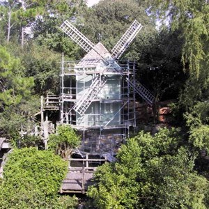 4 of 14: Tom Sawyer Island - Tom Sawyer Island refurbishment