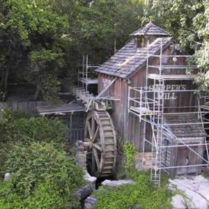 9 of 14: Tom Sawyer Island - Tom Sawyer Island refurbishment
