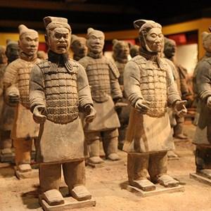 1 of 2: Tomb Warriors - Tomb Warriors exhibit
