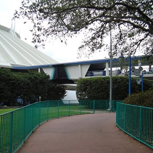 1 of 2: Tomorrowland Transit Authority PeopleMover - Tomorrowland Transit Authority closed for refurbishment