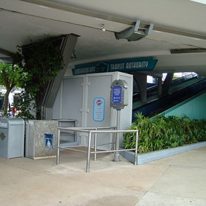 2 of 2: Tomorrowland Transit Authority PeopleMover - Tomorrowland Transit Authority closed for refurbishment