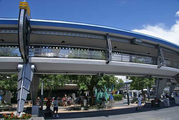 Tomorrowland Transit Authority refurbishment