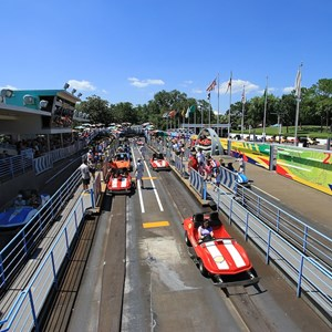 7 of 8: Tomorrowland Indy Speedway - Tomorrowland Indy Speedway