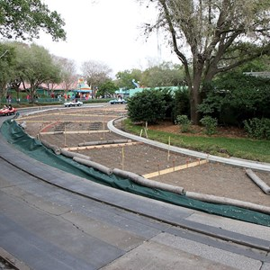 2 of 2: Tomorrowland Speedway - Track modification