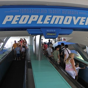 2 of 4: Tomorrowland Transit Authority PeopleMover - Tomorrowland Transit Authority PeopleMover signage