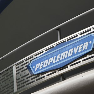 3 of 4: Tomorrowland Transit Authority PeopleMover - Tomorrowland Transit Authority PeopleMover signage