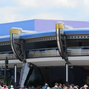 2 of 7: Tomorrowland Transit Authority PeopleMover - Tomorrowland Transit Authority and Astro Orbiter refurbishment