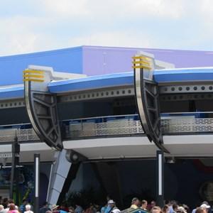 2 of 7: Tomorrowland Transit Authority PeopleMover - Tomorrowland Transit Authority and Astro Orbiter refurbishment