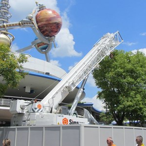 4 of 7: Tomorrowland Transit Authority PeopleMover - Tomorrowland Transit Authority and Astro Orbiter refurbishment